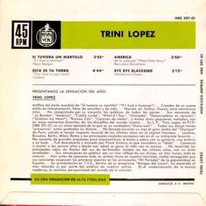 Trini López - HispavoxHRE 297-01