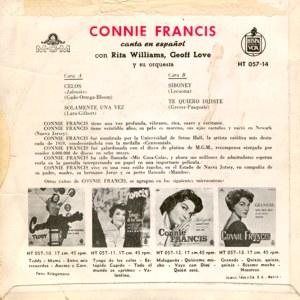 Connie Francis - HispavoxHT 057-14