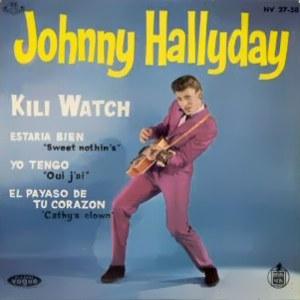 Hallyday, Johnny - HispavoxHV 27- 58