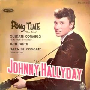 Hallyday, Johnny - HispavoxHV 27- 65