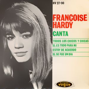 Françoise Hardy - HispavoxHV 27- 90