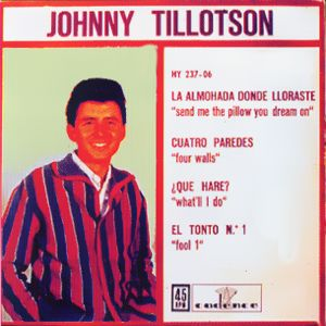 Tillotson, Johnny - Hispavox HY 237-06