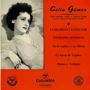 Gámez, Celia - ColumbiaCGE 60015