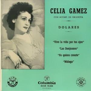 Gámez, Celia - ColumbiaECGE 70008