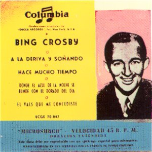 Crosby, Bing - ColumbiaECGE 70047