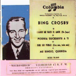 Crosby, Bing - ColumbiaECGE 70049