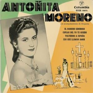 Moreno, Antoñita - ColumbiaECGE 70072