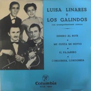 Linares Y Los Galindos, Luisa - ColumbiaECGE 70139