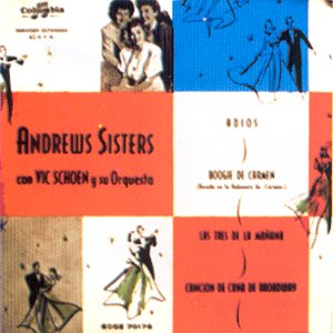 Andrews Sister, The - Columbia ECGE 70176
