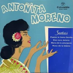 Moreno, Antoñita - ColumbiaECGE 70259