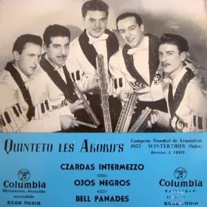 Quinteto Les Akord´s - ColumbiaECGE 70318