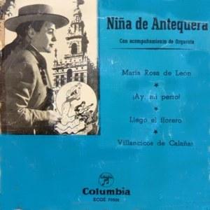 Niña De Antequera - ColumbiaECGE 70501