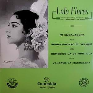 Flores, Lola - ColumbiaECGE 70679