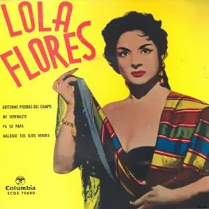 Flores, Lola - ColumbiaECGE 70680