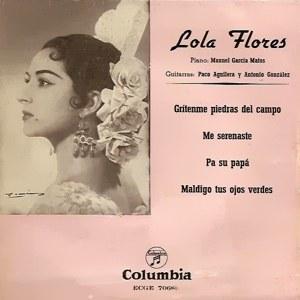 Lola Flores - ColumbiaECGE 70680