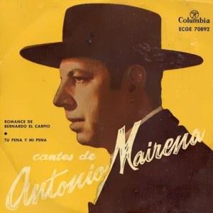 Mairena, Antonio - ColumbiaECGE 70892