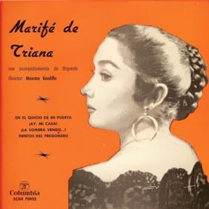 Triana, Marifé De - ColumbiaECGE 70933