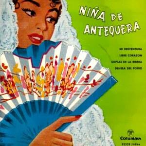 Niña De Antequera - ColumbiaECGE 70935