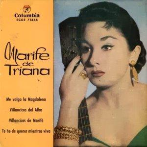 Triana, Marifé De - ColumbiaECGE 71356