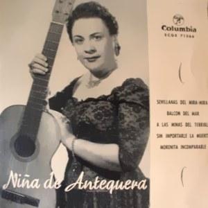 Niña De Antequera - ColumbiaECGE 71366