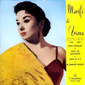 Triana, Marifé De - ColumbiaECGE 71484