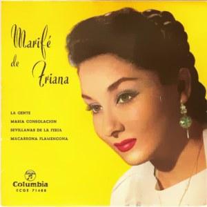 Triana, Marifé De - ColumbiaECGE 71488