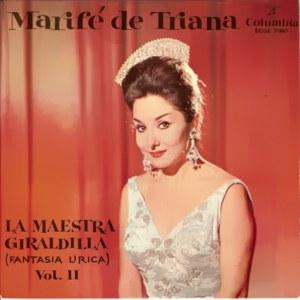 Triana, Marifé De - ColumbiaECGE 71807