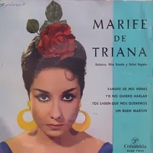 Triana, Marifé De - ColumbiaECGE 71812