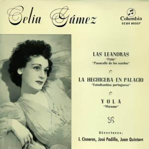 Gámez, Celia - ColumbiaSCGE 80357