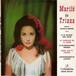 Triana, Marifé De - ColumbiaSCGE 80746
