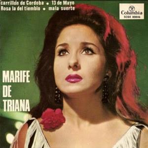 Triana, Marifé De - ColumbiaSCGE 80846