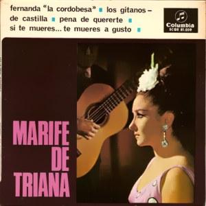 Triana, Marifé De - ColumbiaSCGE 81059
