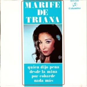 Triana, Marifé De - ColumbiaSCV 520