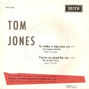Tom Jones - Columbia ME 263