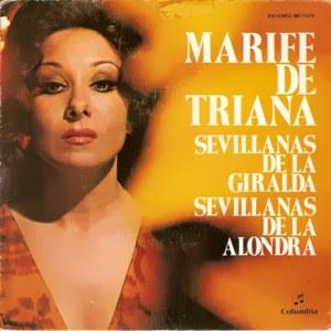 Triana, Marifé De - ColumbiaMO 1329