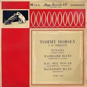 Dorsey, Tommy - La Voz De Su Amo (EMI)7EML 102