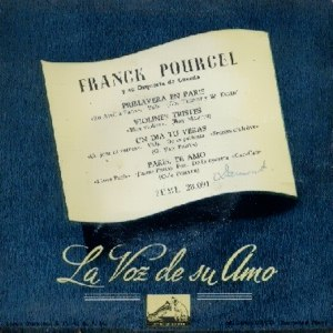 Pourcel, Franck - La Voz De Su Amo (EMI)7EML 28.091