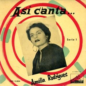 Amália Rodrigues - La Voz De Su Amo (EMI)7EPL 13.034