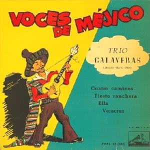 Trío Calaveras - La Voz De Su Amo (EMI)7EPL 13.080