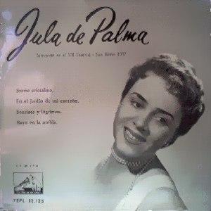 Palma, Jula De - La Voz De Su Amo (EMI)7EPL 13.135