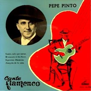 Pinto, Pepe - La Voz De Su Amo (EMI)7EPL 13.198