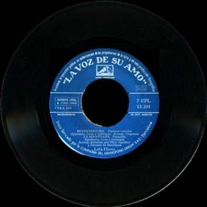 Lola Flores - La Voz De Su Amo (EMI)7EPL 13.204