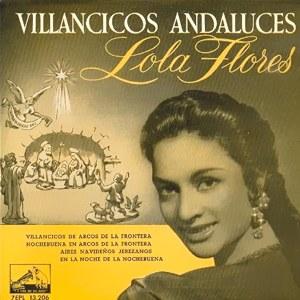 Flores, Lola - La Voz De Su Amo (EMI)7EPL 13.206