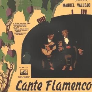 Vallejo, Manuel - La Voz De Su Amo (EMI)7EPL 13.207