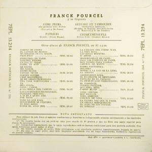 Franck Pourcel - La Voz De Su Amo (EMI)7EPL 13.254