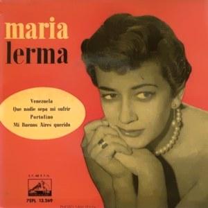 Lerma, María - La Voz De Su Amo (EMI)7EPL 13.269