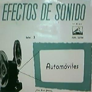 Efectos De Sonido - La Voz De Su Amo (EMI)7EPL 13.284