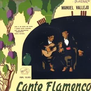Vallejo, Manuel - La Voz De Su Amo (EMI)7EPL 13.315