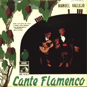 Manuel Vallejo - La Voz De Su Amo (EMI)7EPL 13.315