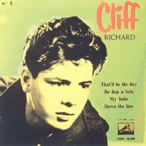 Richard, Cliff - La Voz De Su Amo (EMI)7EPL 13.401
